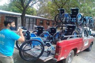 CILSA donó 20 sillas de ruedas a los  centros de vacunación en la ciudad de Santa Fe