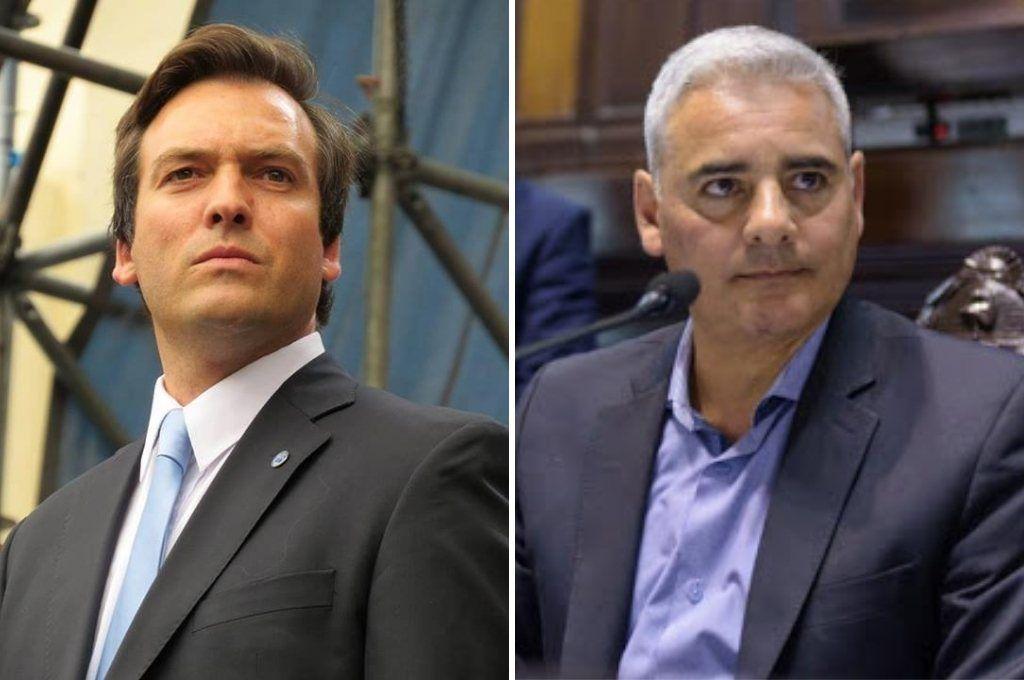Los nombres que analiza Alberto Fernández para el Ministerio de Justicia - Martín Soria y Ramiro Gutiérrez. -