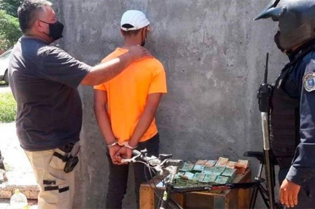 El detenido fue identificado como Elías Corvalán Crédito: Gentileza