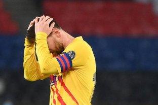 Messi marcó un golazo, pero no alcanzó y PSG eliminó a Barcelona
