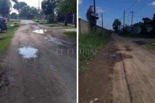 Vecinos de Favaloro Sur pidieron ser incorporados a la obra de pavimento