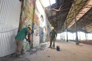 Comenzaron los trabajos para  recuperar la ex estación Mitre