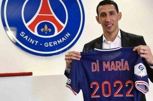 Di María sigue un año más en París Saint Germain