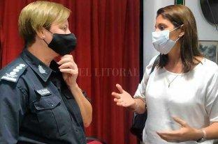 Betina Florito y la red de vecinales reclaman por la inseguridad