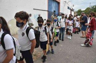 Comenzó el ciclo lectivo 2021 con presencialidad en colegios privados