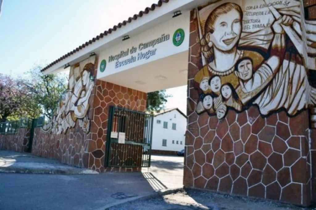 Con solo la mitad de testeos, Corrientes reportó 131 casos nuevos - Hospital de Campaña de Corrientes. -