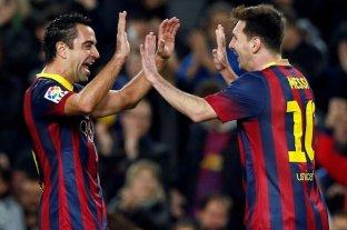 Messi igualó el récord histórico de partidos jugados de Xavi en el Barcelona