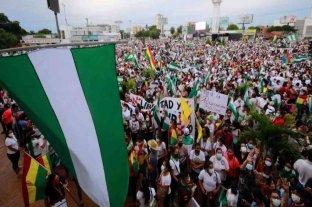 Bolivia: multitudinarias marchas contra la detención de Jeanine Áñez