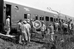 La historia de la peor tragedia ferroviaria de la provincia