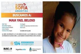 Alerta Sofía: buscan a Maia Yael Beloso en todo el país