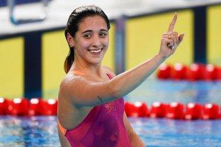 Delfina Pignatiello ganó la medalla de oro en los 800 metros libres femeninos