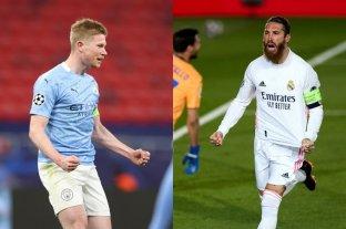 Manchester City y Real Madrid avanzaron a los cuartos de final de la Champions League
