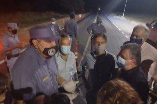 """Diputados de la UCR lograron ingresar a Formosa, tras denunciar que fueron """"retenidos"""" por la policía provincial"""