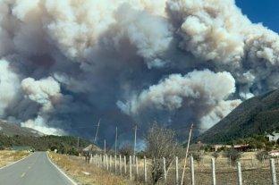 Incendio forestal en la Sierra de Arteaga, Coahuila