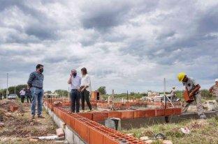 Ceres: reactivan las obras de 20 viviendas
