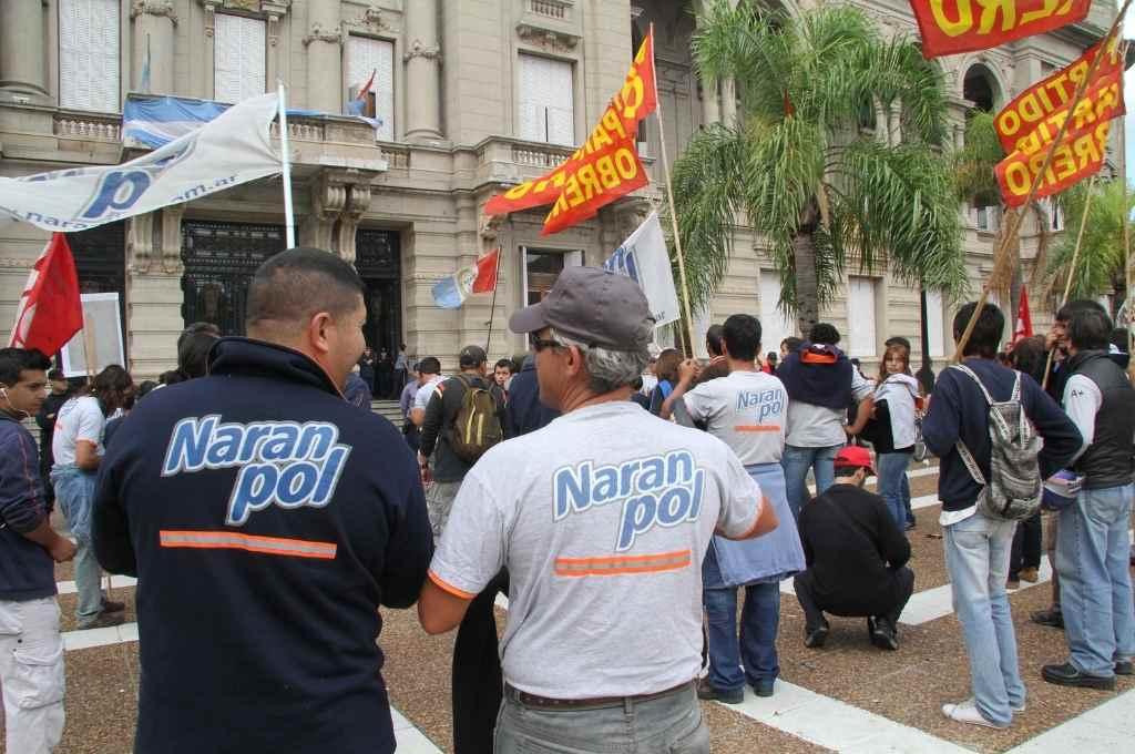 Después de jornadas de movilizaciones y protestas los trabajadores lograron en 2012 la cesión de la planta industrial     Crédito: El Litoral