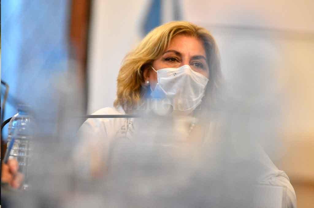 Sonia Martorano, ministra de Salud de la provincia. Crédito: Pablo Aguirre