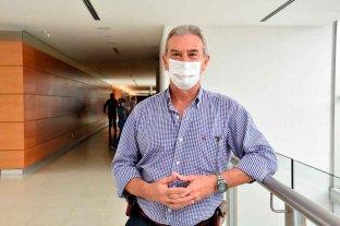 """Francisco Villano: """"No tengo palabras de   agradecimiento para el personal de salud"""""""