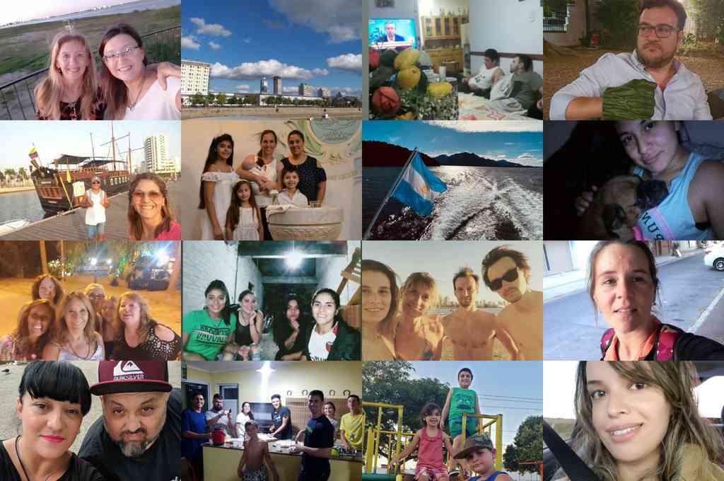 Seguidores de El Litoral compartieron la última foto que se tomaron antes de que comience el ASPO en el país. Crédito: Imagen ilustrativa