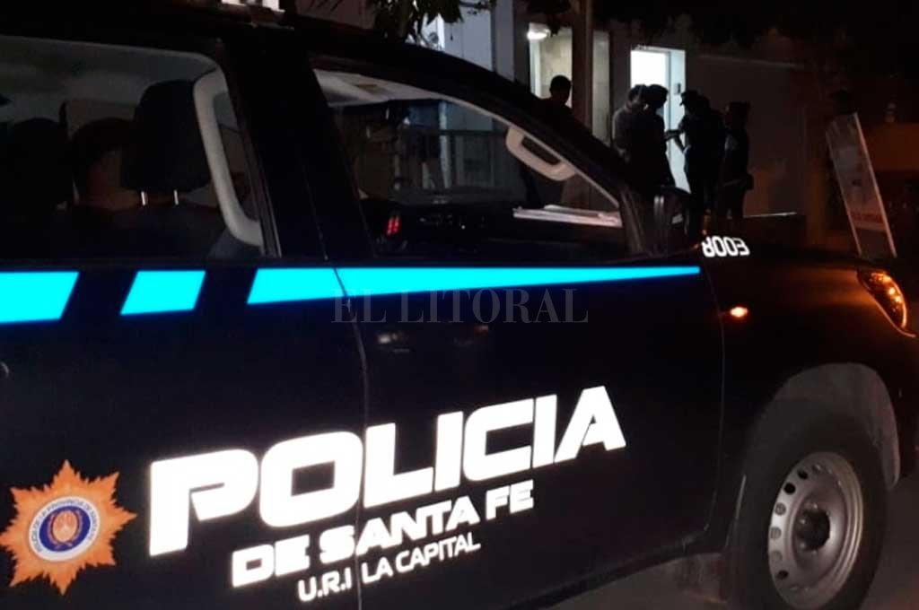 Personal policial investiga las circunstancias en que se produjeron los distintos incidentes.  Crédito: Archivo El Litoral