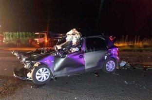 Tres muertos en un choque cerca de Rufino