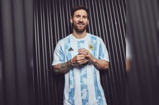 La Selección Argentina presentó su nueva camiseta