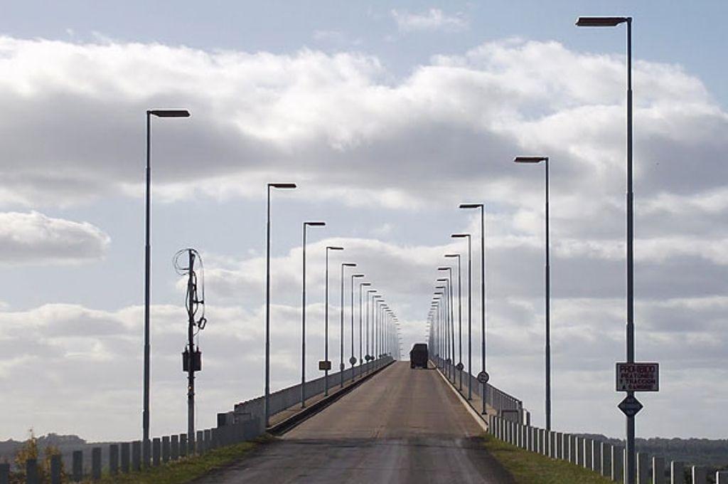 Puente Internacional General Artigas Crédito: Gentileza