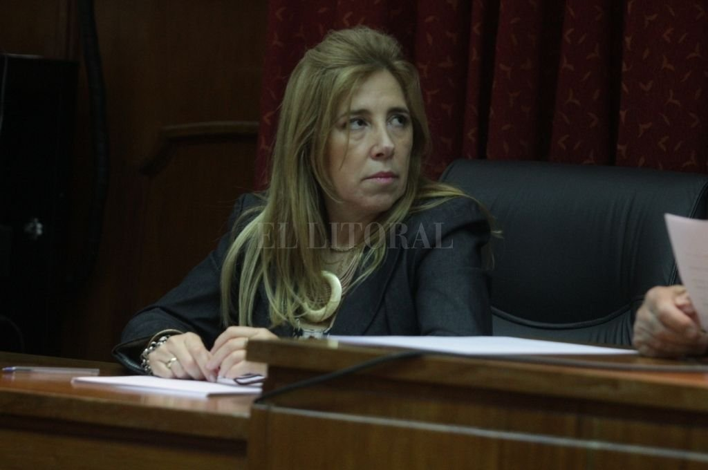 La jueza Sandra Valenti dispuso que la mujer, que prestó colaboración a dos de los imputados por el crimen de Oldani, siga en prisión. Crédito: Guillermo Di Salvatore