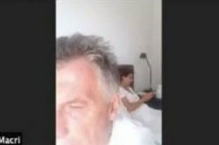 ¿Quién filtró la foto de Macri semidormido junto con Juliana Awada durante un Zoom?