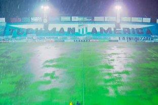 Atlético Tucumán y Huracán completan los minutos restantes al partido suspendido por lluvia