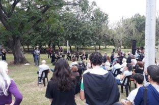 En el Scalabrini Ortiz, recordaron a los desaparecidos en la dictadura