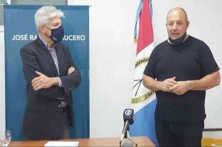 Baucero firmó convenio y entregó aportes