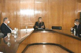 Jornada de trabajo de Sacnun con integrantes de la Justicia Federal de Rosario