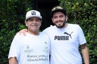 """""""Sería un gran homenaje a mi viejo si Messi levantara la Copa en Qatar"""", dijo Maradona Jr."""