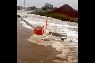 Gálvez: asisten a las familias evacuadas tras el temporal