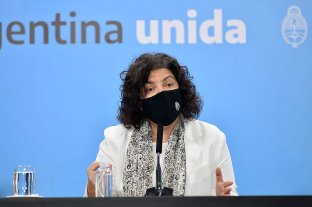 """""""La vacuna que aplica la Argentina es la de Sinopharm y tiene una eficacia del 80%"""", aseguró Vizzotti"""