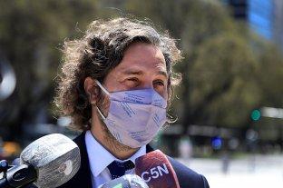 """Para Santiago Cafiero, """"está bien que las provincias colaboren comprando vacunas"""""""