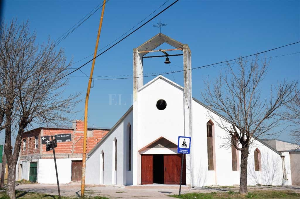Iglesia de barrio San Agustín. Crédito: Archivo El Litoral
