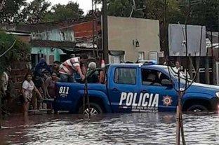 Tras las lluvias, 146 personas permanecen evacuadas en la provincia de Santa Fe