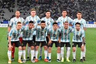 Amistoso Sub23: Argentina superó a Japón por la mínima diferencia