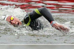 La cordobesa Biagioli alcanzó el  oro en los 10 kilómetros de Aguas abiertas de natación