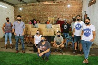 El Movimiento Solidario Rosario intensificó sus tareas por las consecuencias de la pandemia