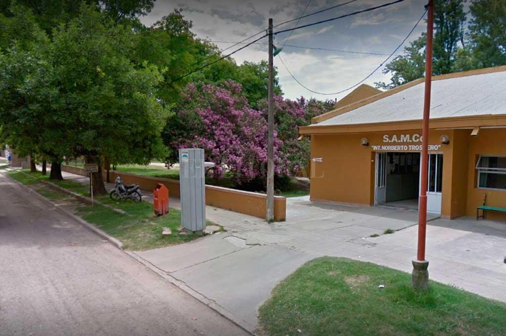 El sujeto fue asistido en el Samco local y luego derivado a Santa Fe pero murió por la gravedad de las quemaduras. Crédito: Captura de Pantalla - Google Street View