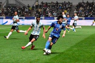 Argentina cerró su gira con una goleada en contra ante Japón