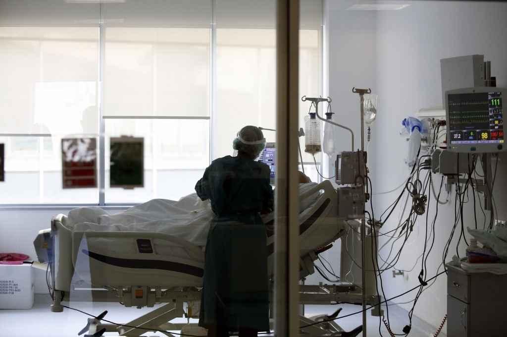 La ocupación de camas críticas (o camas UTI, Unidades de Terapia Intensiva) en efectores públicos de la provincia -contando las no Covid como Covid- es del 60%.  Crédito: Gentileza