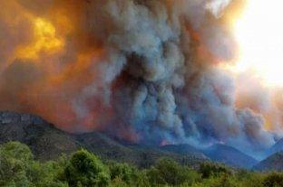 Las provincias de Río Negro y Chubut siguen siendo afectadas por los incendios