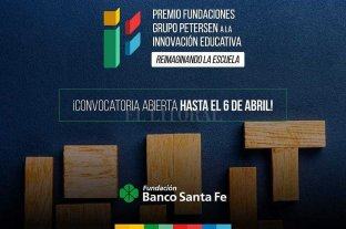 Fundación Banco Santa Fe lanza un concurso de innovación educativa