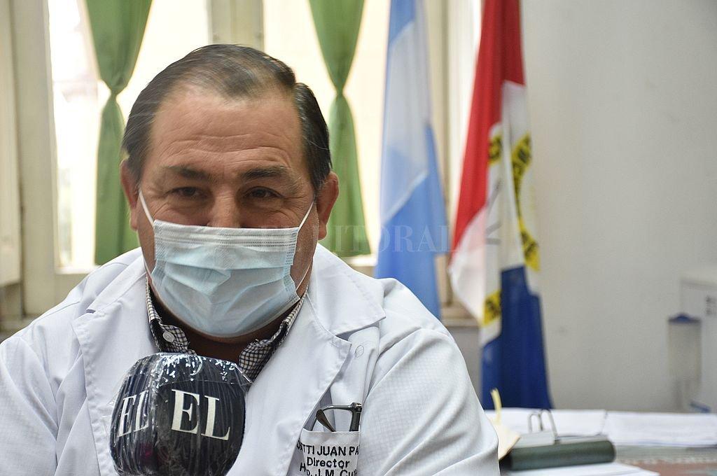 Juan Pablo Poletti, Director del Hospital José María Cullen. Crédito: Flavio Raina