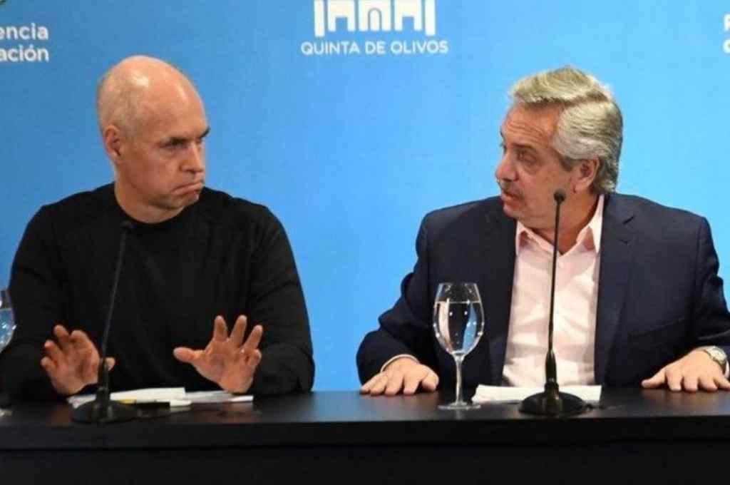 Se suspendió la renión de Alberto Fernández con Rodríguez Larreta