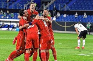 Alemania cayó ante Macedonia del Norte